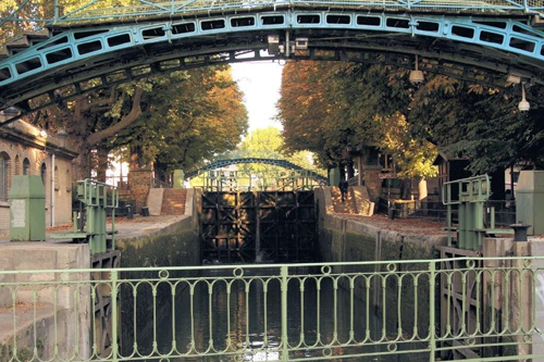 Sluis Canal Saint Martin